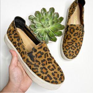 BCBGeneration Casey Leopard Print Slip On Sneakers